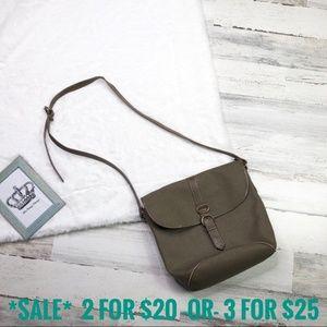Ann Taylor vintage leather cross body shoulder bag